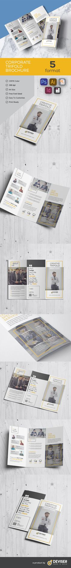 """Check out my @Behance project: """"Tri-Fold Brochure"""" https://www.behance.net/gallery/51155917/Tri-Fold-Brochure"""
