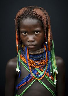 Mwila Girl, Angola
