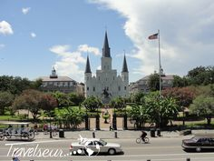 Picture Of The Day: Jackson Square and St. Louis Cathedral, New Orleans, Louisiana