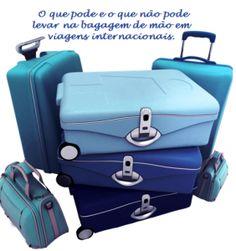 O que você pode e não pode levar na bagagem de mão em viagens internacionais