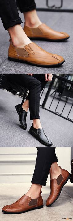 US$44.89 + Free shipping. Men Shoes, Leather Shoes, Outdoor Shoes, Driving Flats, Casual Shoes, Business Shoes, Breathable Flats, Oxfords Shoes. Color: Black, Brown, Yellow.