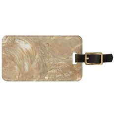 Creme Marble Faux Finish Tags For Luggage, only $9.50 per tag.