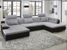 Canapé de relaxation électrique 3 places ORLANDO coloris gris