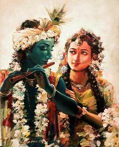 Radha Krishna Images, Krishna Radha, Lord Krishna, Krishna Leela, Lord Murugan, Krishna Painting, Hindu Art, Indian Paintings, Sacred Art