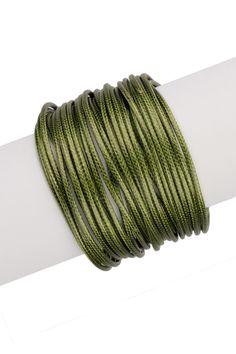 Genuine Leather Cord Bracelet