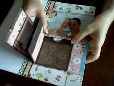 Total Papercrafts technique video - simple folded mini album LOVE THIS IDEA