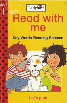 Ladybird - Read With Me - Book 1 - Let's Play - Key Words Reading Scheme - Hardc