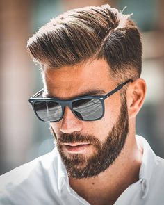 Bearded Men: 49 Amazing Beards And Hairstyles For Modern Men. Trending Hairstyles For Men, Mens Hairstyles With Beard, Haircuts For Men, Trendy Hairstyles, Mexican Hairstyles, Plaits Hairstyles, Hairstyles 2018, Short Bob Hairstyles, Hairstyles For School