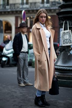 Trench #coat #street fashion