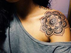 Mandala tattoo done by Franco Maldonado at Gristle Tattoo Brooklyn, New York