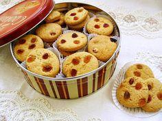 Biscuiti cu aroma de lamaie si stafide