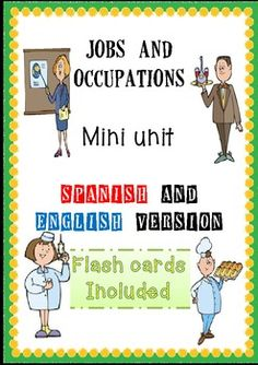 Jobs and Occupations Bilingual Mini Unit (Spanish/English)