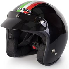 Spada Italia Open Face Motorcycle Helmet  Description: The Spada Italia Open Faced Helmets are packed with       features..              Specifications include                      Polycarbonate construction                    EC 2205 approved                    Double D-ring fastening                    Removable peak Price: GBP:...  http://bikesdirect.org.uk/spada-italia-open-face-motorcycle-helmet-4/