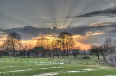 Zalk, Holland Sunset