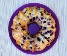 un pedacito de cielo: Bundt Cake de Arándanos Azules