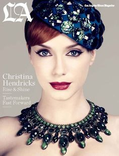 she is flawless....Christina Hendricks - makes me miss Mad Men