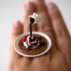 Kawaii Cute Japanese Miniature Food Floating by fingerfooddelight, $15.00
