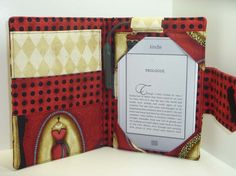 The Book Snoop: Handmade Kindle Covers