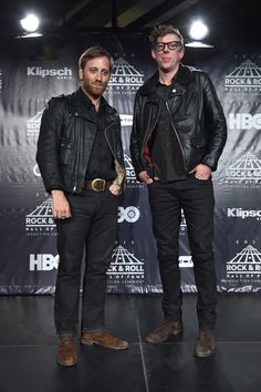 Dan Aurerbach and Patrick Carney of The Black Keys attend the 31st Annual Rock And Roll Hall Of Fame Induction Ceremony at Barclays Center on April 8, 2016 in New York City | Billboard