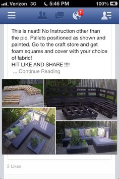 Patio Idea - make it higher and put a dining table
