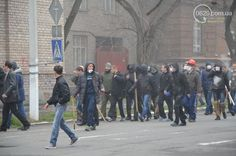 most of the separatists are wearing masks