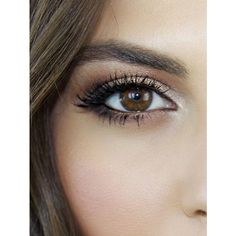 A Stunning Makeup Tutorial for Brown Eyes via Polyvore featuring beauty products, makeup y eye makeup