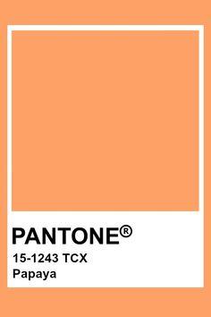 Paleta Pantone, Pantone Orange, Pantone Tcx, Colour Pallete, Colour Schemes, Color Trends, Color Combinations, Pantone Swatches, Color Swatches