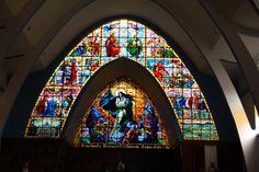Vitrales de IGLESIA LA INMACULADA, Versalles, Valle del Cauca, Colombia Mirror, Stars, Twitter, Home Decor, Virgin Mary, Colombia, Versailles, Decoration Home, Room Decor