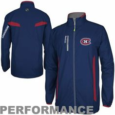 Reebok Montreal Canadiens Center Ice Full Zip Performance Jacket