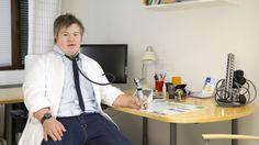 René Karlssons drömjobb är läkare.