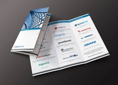 Trifold for headtechnology Group #8ncm #graphicdesign