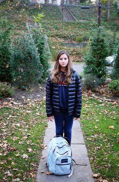 Bianca going to school #6