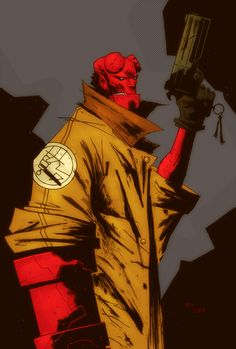 Hellboy by lummage.deviantart.com on @deviantART