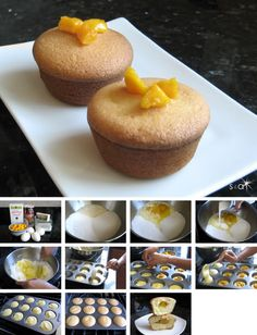 My new favorite Samiwich & Addiecakes: Mango Mochi Muffins. I mix in green tea matcha for green tea flavored ones