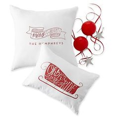Graphic Cotton Pillow