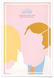 The great Gatsby II - Fräulein Fisher - Premium Poster