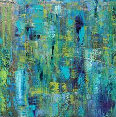 "Saatchi Online Artist: Esther Glina Montagner; Oil 2013 Painting ""Sea Foam2"""