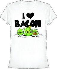 Bacon, yup me too! #BigFrog #Valrico #Brandon #CustomTee #Tshirt #bacon