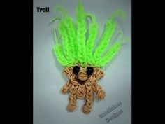 Troll Tutorial using the Rainbow Loom - Extended Loom Version