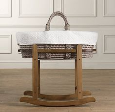 Love moses basket and stand.