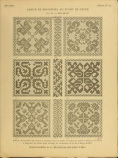 """cross stitch"" - It Was A Work of Craft Cross Stitch Borders, Cross Stitch Samplers, Cross Stitch Charts, Cross Stitching, Cross Stitch Embroidery, Embroidery Patterns, Cross Stitch Patterns, Vintage Cross Stitches, Lesage"