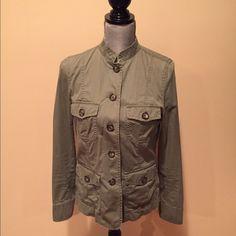 Banana Republic jacket Cute lightweight jacket. Can be used year round, 100% cotton Banana Republic Jackets & Coats Utility Jackets
