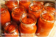 Jadło i czytadło: Ketchup - prawie jak Hellmans Cooking Recipes, Healthy Recipes, Ketchup, Preserves, Food And Drink, Menu, Jar, Treats, Homemade