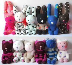 sock pets/sock animals by Immertreu®