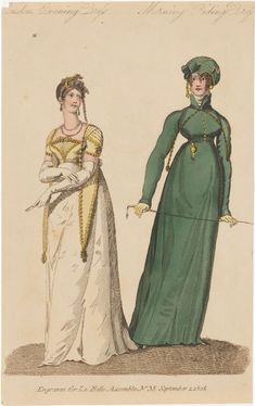 Yellow Ballgown, Napoleon, Regency, World Of Fashion, Dress Making, Ball Gowns, Evening Dresses, Empire, Costumes