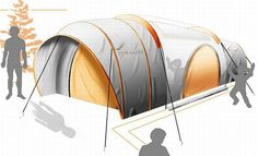 Seven unusual and interesting camping tents for modern nomads | Designbuzz : Design ideas and concepts