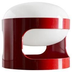 Joe Colombo Table Lamp Model KD27 for Kartell