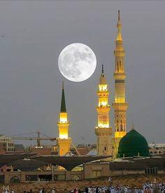 Al Masjid An Nabawi, Mecca Masjid, Islamic Wallpaper Hd, Mecca Wallpaper, Islamic Images, Islamic Pictures, Islamic Art, Islamic Quotes, Urdu Quotes