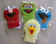 My Little Lizzie Handmade Craft - Catalogue: Lizzie@Storytime, Finger Puppets