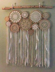 crochet dreamcatcher inspirations